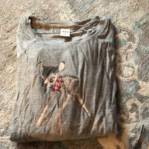 LC x Disney Collection Long Sleeve with Bambi